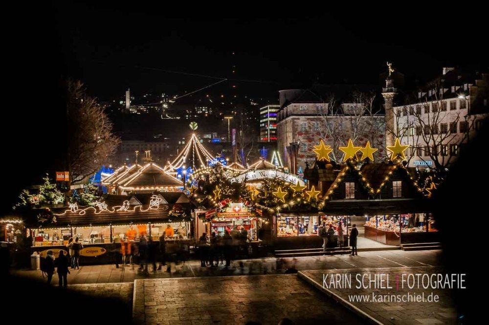 Lichterzauber auf dem Stuttgarter Weihnachtsmarkt (1/6)
